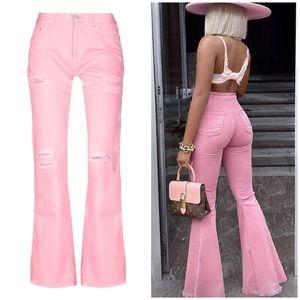 John Richmond pink jeans